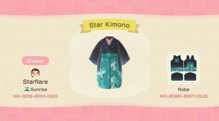 Kimono oiseau