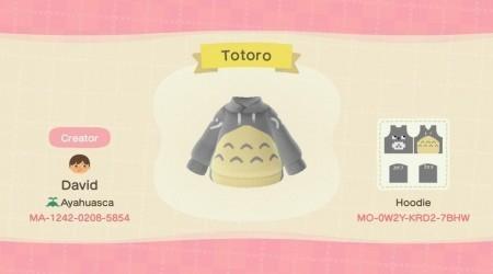 Ghibli : Hoodie Totoro