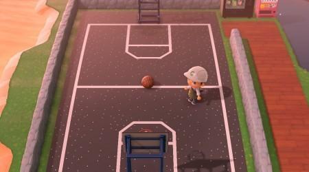 Terrain de basket (vert ou noir)