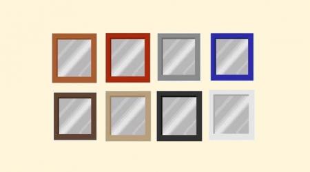 Miroirs (plusieurs coloris)