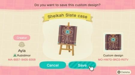 Zelda : coque tablette Sheikah