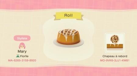 Chapeau cinnamon roll