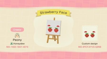Maquillage fraise
