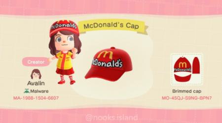 McDonald casquette