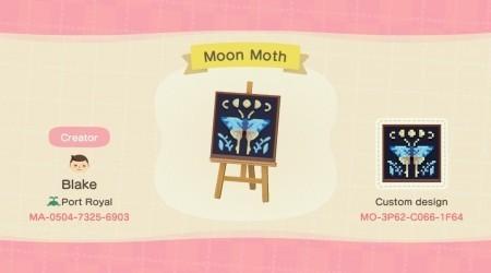 Papillon de lune