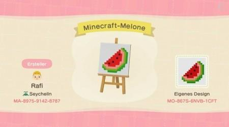Minecraft : pastèque