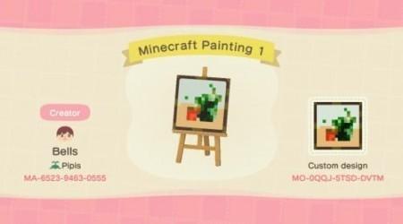 Minecraft : peinture