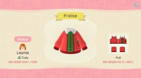 Pull fraise