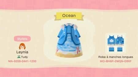 Robe océan