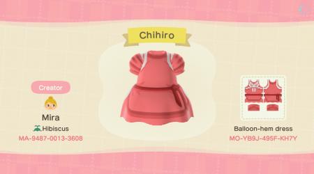 Ghibli : robe Chihiro