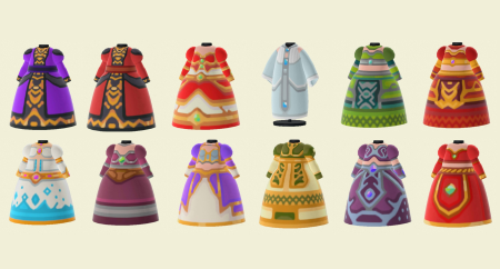 WoW : robes