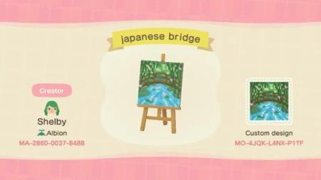 Tableau pont japonais