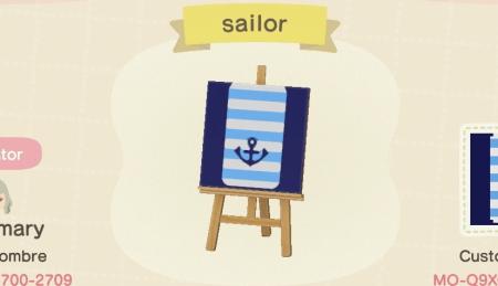 Coque de Gulliver, marin