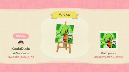 Pokémon : Arcko