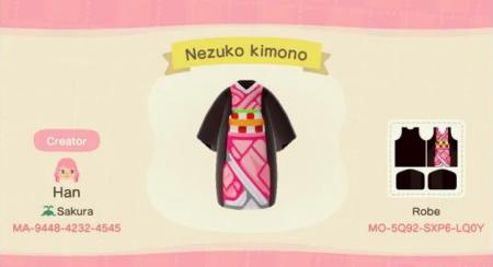 Demon Slayer : kimono Nezuko