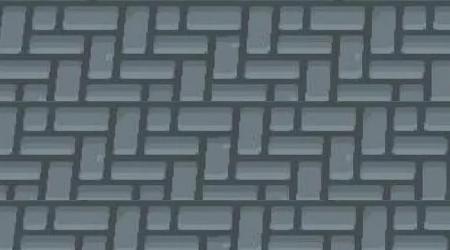 Sol briques grises