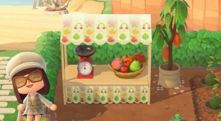 Stand de fruits