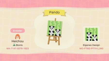 Panda bambous