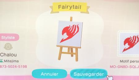 Drapeau Fairy Tail