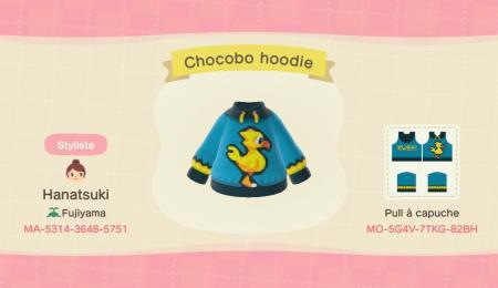 Chocobo hoodie
