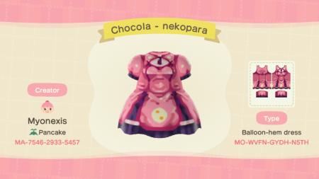 Nekopara : robe Chocola