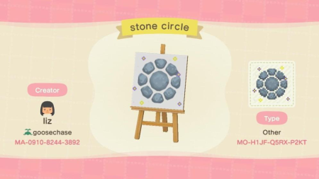 Cercle en pierre