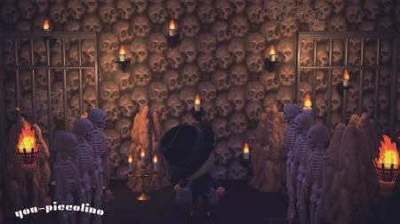 Crânes squelette Halloween