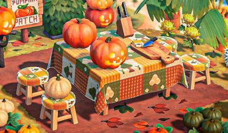 Nappe automne Halloween