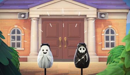 Fantôme / La Faucheuse Halloween