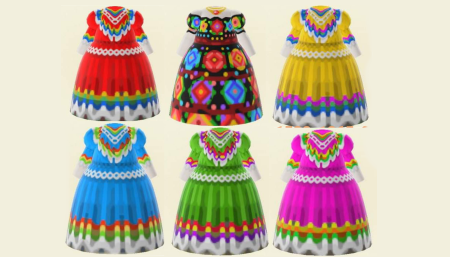 Robe traditionnelle mexicaine