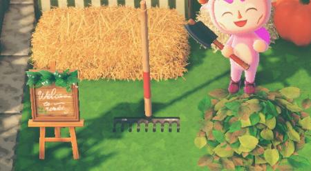 Jardinage, rateau