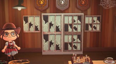 Fenêtre vitres cassées Halloween