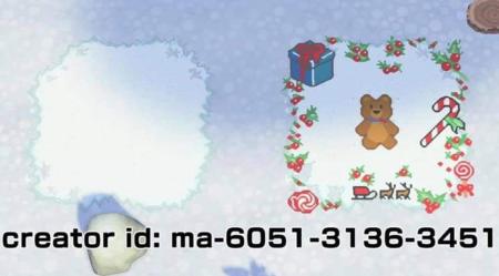 Chemin neige Noël