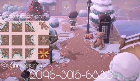 Chemin biscuit Noël