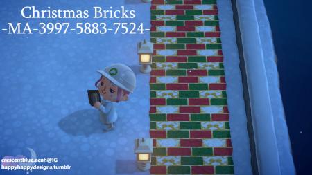 Briques Noël