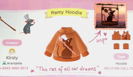 Disney : pull Ratatouille
