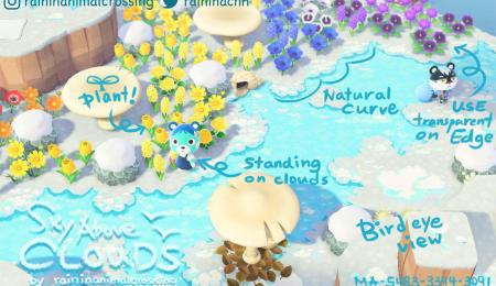 Ciel et nuages, hiver