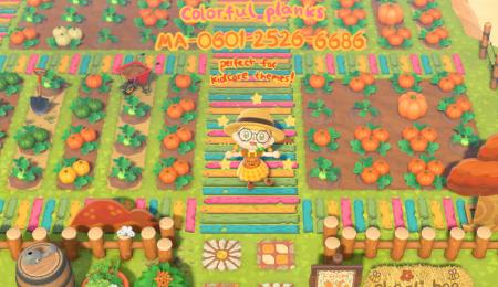 Planches colorées