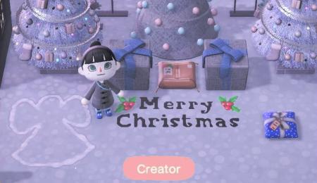 Ange dans la neige et message joyeux Noël