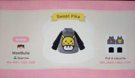 Sweat Pikachu