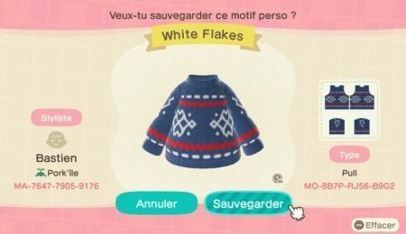 White Flakes