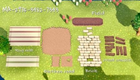 Briques, bois, tapis, terre