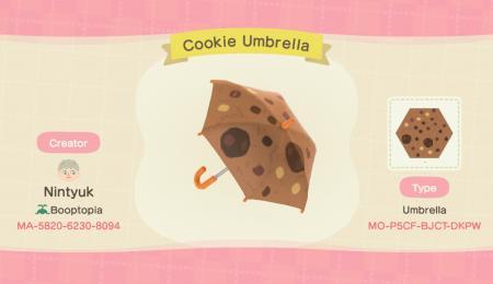 Parapluie cookie