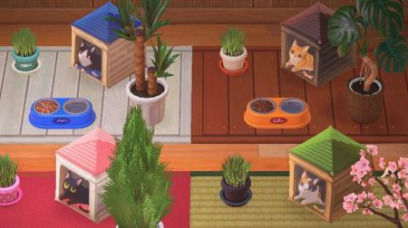 Niche / maison pour chat