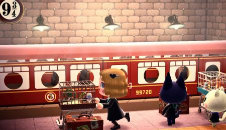 Harry Potter : train Hogwarts Express