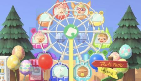 Grande roue, fête foraine